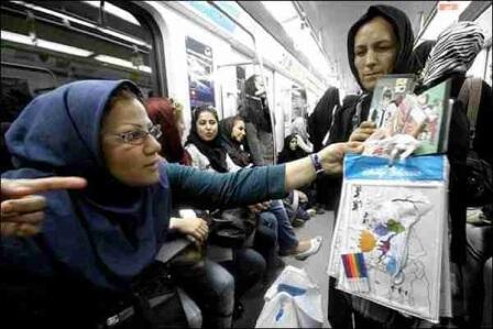 zanan_metro_tehran